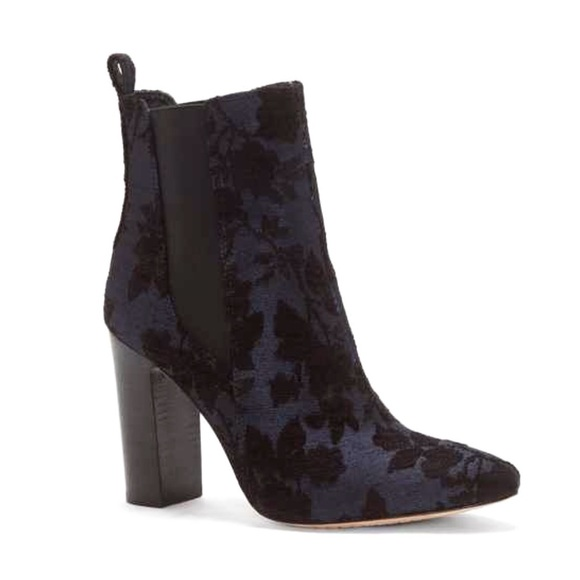 NEW Vince Camuto Floral Britsy Ankle Boots